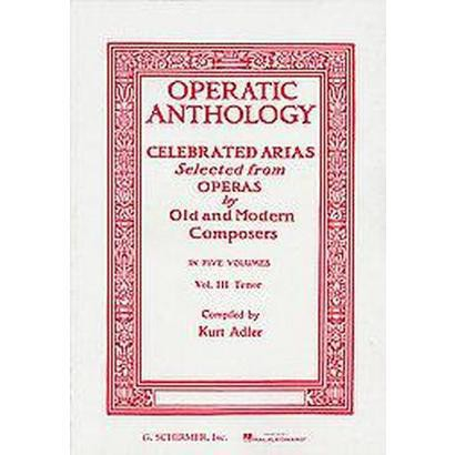 OPERATIC ANTHOLOGY Soprano and Piano (Paperback)