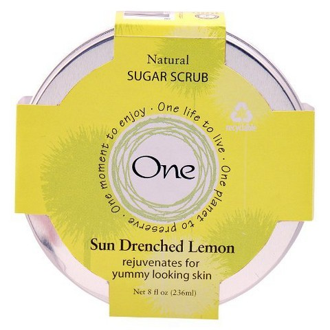 One Sun Drenched Lemon Body Scrub - 8 oz.