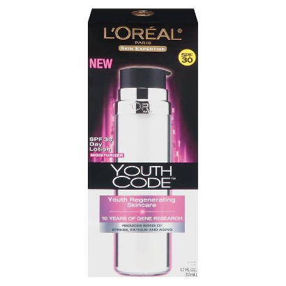 L'Oreal® Paris Skin Expertise Youth Code Day Lotion with SPF 30 - 1.7 oz