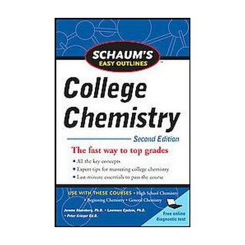 Schaums Easy Outlines College Chemistry (Paperback)