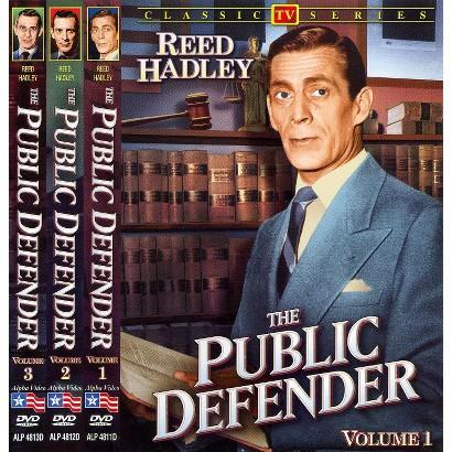 The Public Defender, Vols. 1-3 (3 Discs)