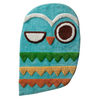 Give a Hoot Bath Rug