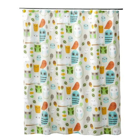 Give A Hoot Shower Curtain 72x72 Target