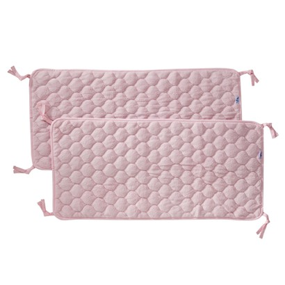 NoJo Crushed Fleece Sheet Saver - 2 pK