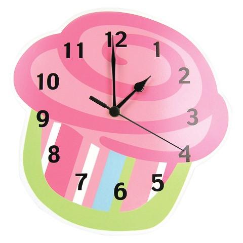 Trend Lab Cupcake Wall Clock