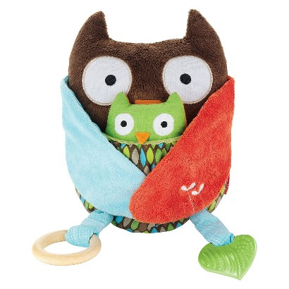 Skip Hop Treetop Friends Activity Hug & Hide Toy - Owl