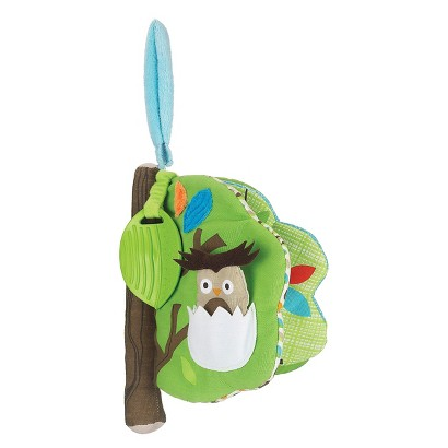Skip Hop Treetop Friends Soft Activity Book - Owl