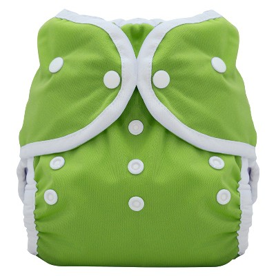 Thirsties Reusable Duo Wrap Diaper with Snaps, Size Two - Meadow