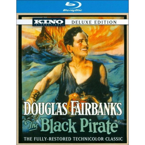 The Black Pirate (Deluxe Edition) (Blu-ray) (R)