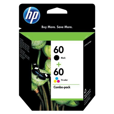 HP 60 Ink Combo Pack