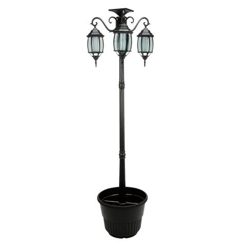 Solar Planter Lamp Post 6.5'