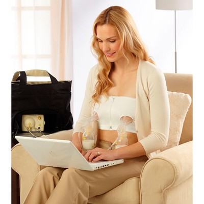 Medela Easy Expression White Bustier L