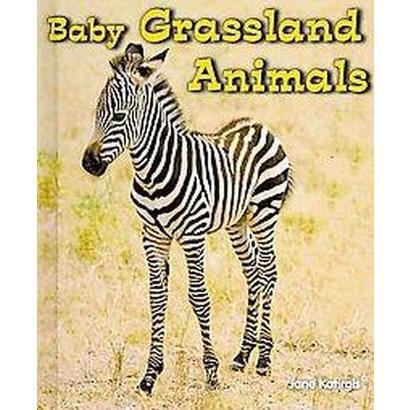 Baby Grassland Animals (Hardcover)