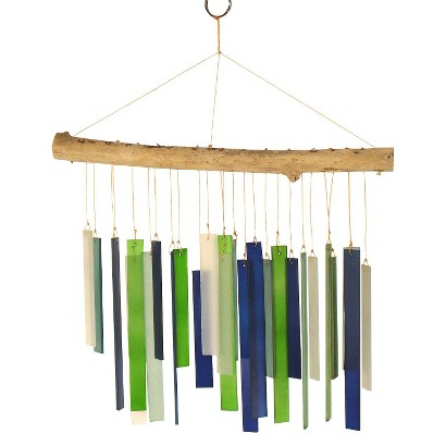 Driftwood Wind Chime - Seaglass