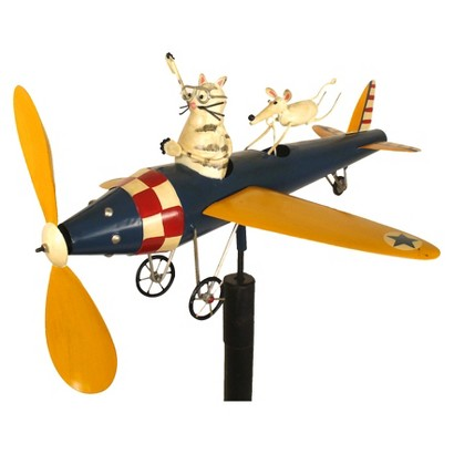 Cat Aviator Whirligig