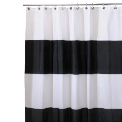 InterDesign Zeno Waterproof Polyester Shower Curtain
