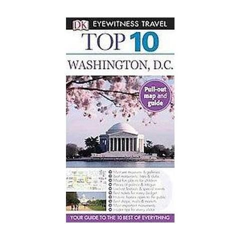 Dk Eyewitness Travel Top 10 Washington Dc (Reprint) (Mixed media product)
