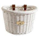 Nantucket Bicycle Basket Co. Cruiser Collection - White