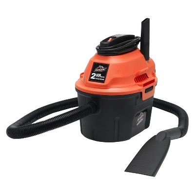 Armor All Utility 2.5 Gal/2 HP Wet/Dry Vacuum - Orange/Gray