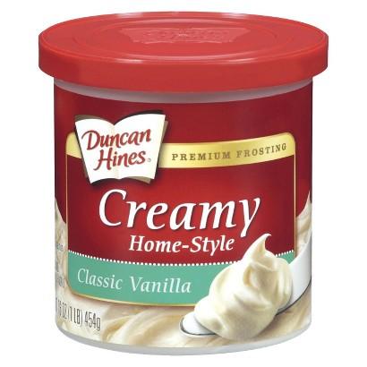 Duncan Hines Vanilla Frosting - 16 oz.