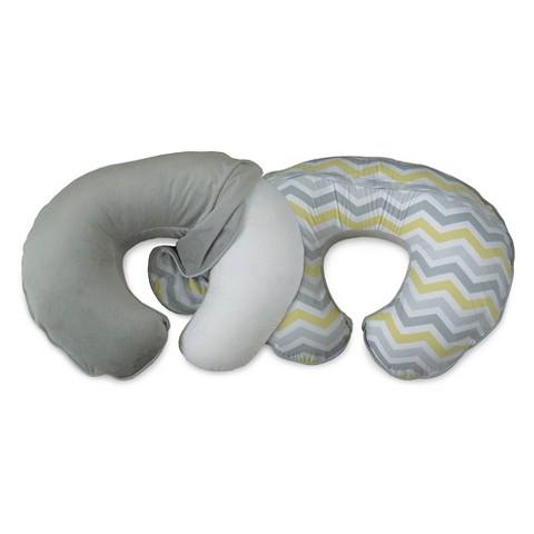 Boppy Signature Nursing Pillow Slipcover - Grey Chevron