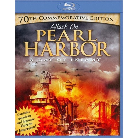 Attack on Pearl Harbor: A Day of Infamy (70th Commemorative Edition) (Blu-ray)