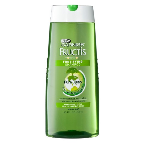 Garnier® Fructis® Pure Clean Shampoo For Normal Hair - 25.4 fl oz