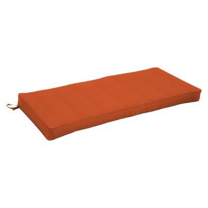Smith & Hawken® Premium Quality Avignon® 5' Bench Cushion - Rust