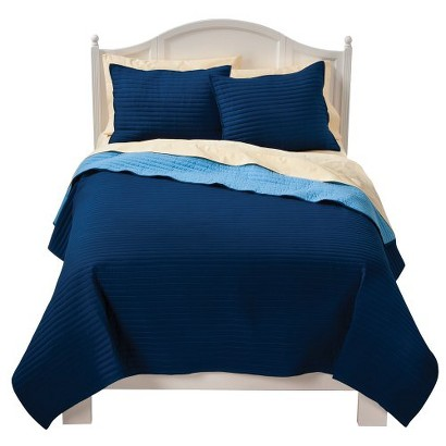 Circo® Basic Quilt Set - Blue