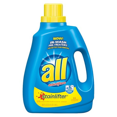 All Stainlifter HEC Liquid Laundry Detergent 100 oz