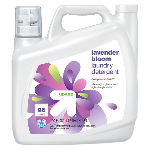 up & up™ Liquid Laundry Detergent - Lavender Scent - 150 oz