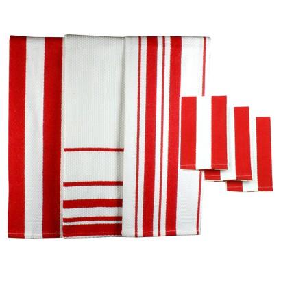 MU Kitchen 6pc Dish Towel & Dish Cloth Set