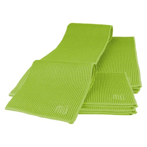 MU Kitchen 5-pc. Waffle Dish Cloth & Dish Towel Set - Green