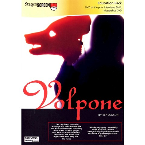 Volpone (3 Discs) (Education Pack)