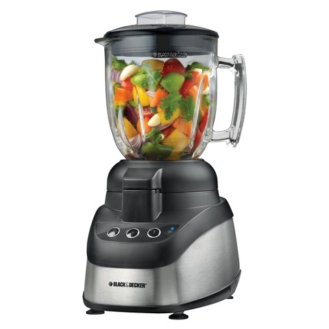 BLACK + DECKER 2-in-1 Food Processor and Blender