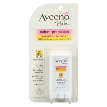 Aveeno Baby Natural Protection Sunblock Stick SPF 50+ (0.5 oz.)
