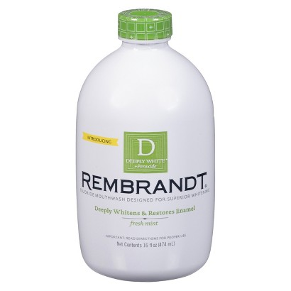 Rembrandt Deeply White + Peroxide Whitening Mouthwash