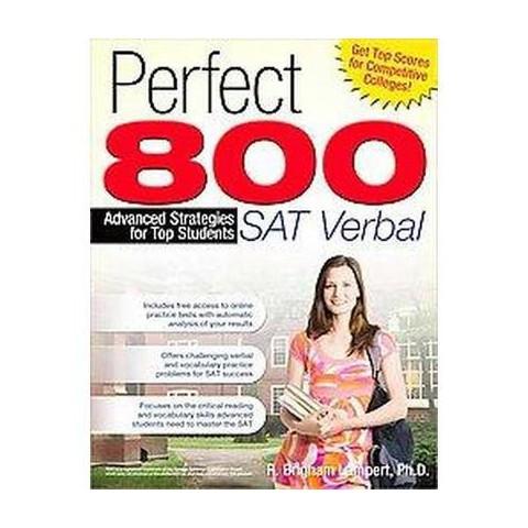 Perfect 800: Sat Verbal (Paperback)