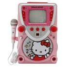 Hello Kitty CD Karaoke System with Screen - Pink/ White (68109)