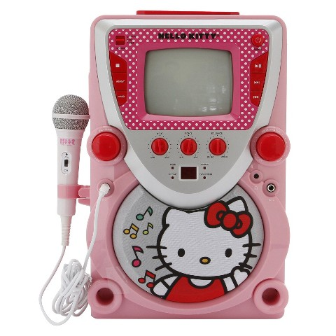 Hello Kitty Karaoke Machine With Screen Hello Kitty cd Karaoke System