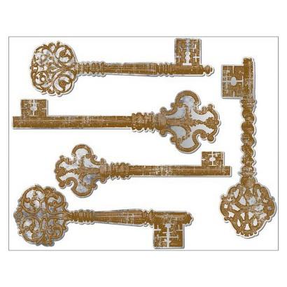 "Antique Mirror Keys (12 x 15"")"