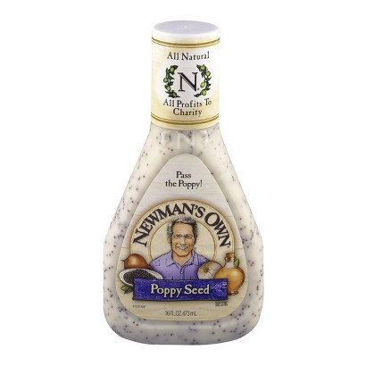 Newman's Own All Natural Poppy Seed Dressing 16-oz.