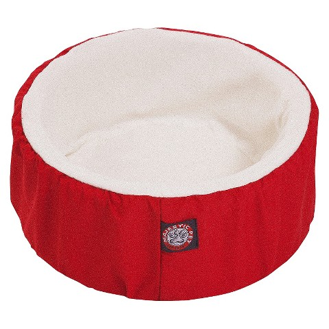 Majestic Pet Cat Cuddler Pet Bed - Red