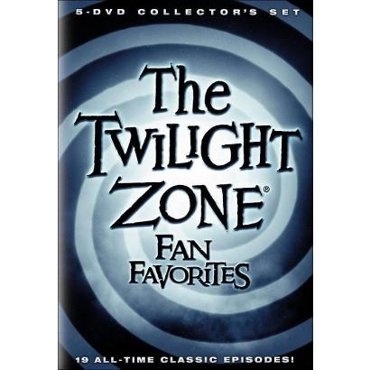 Twilight Zone: Fan Favorites (5 Discs)