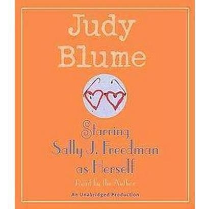 Starring Sally J. Freedman As Herself (Unabridged) (Compact Disc)