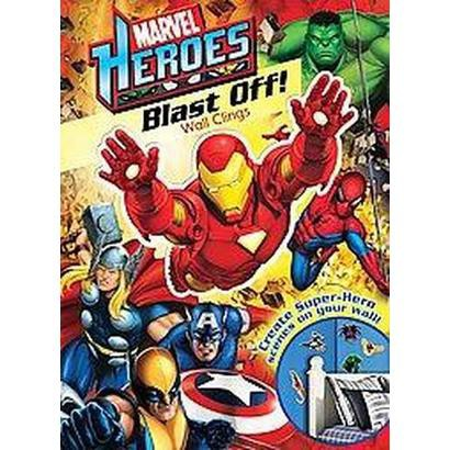 Marvel Heroes Blast Off! Wall Clings (Paperback)