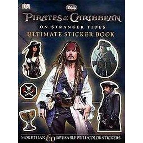Pirates of the Caribbean 4 Ultimate Sticker Book (Paperback)