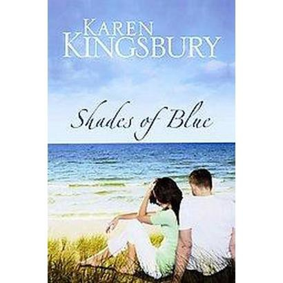 Shades of Blue (Large Print) (Hardcover)