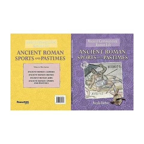 Ancient Roman Sports and Pastimes (Hardcover)