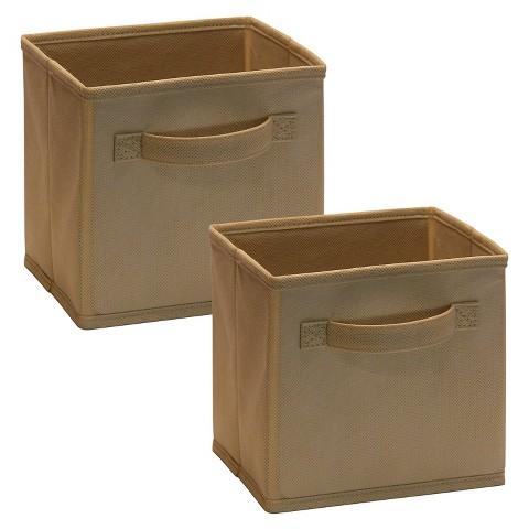 ClosetMaid Mini Fabric Cube 2-Pack
